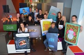 Studierende der HAWK Fakultät Gestaltung Hildesheim entwerfen unter der Leitung des Lehrbeauftragten Herrn Guckert Werbekampagnen für OEOO.