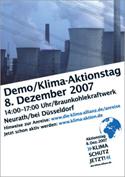 Aktionstag Braunkohlekraftwerk Neurath (bei Düsseldorf)